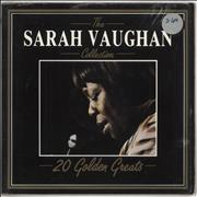 Click here for more info about 'Sarah Vaughan - The Sarah Vaughan Collection - 20 Golden Greats'