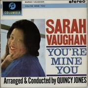 Click here for more info about 'Sarah Vaughan - You're Mine You'