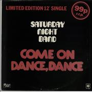 Click here for more info about 'Saturday Night Band - Come On Dance, Dance'