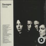 Click here for more info about 'Savages - Silence Yourself - Clear Vinyl - Sealed'