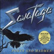 Click here for more info about 'Savatage - Poets And Madmen - Box + Poster, Sticker & Fake Polaroid'