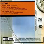 Click here for more info about 'Savatage - Turns To Me'