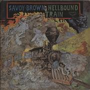 Savoy Brown Hellbound Train Japan vinyl LP Promo