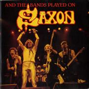 Click here for more info about 'Saxon - And The Band Played On'