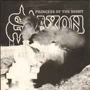 Click here for more info about 'Saxon - Princess Of The Night - White Label'