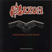 Click here for more info about 'Saxon - Saxon World Tour 1985-86 - Autographed'