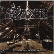 Click here for more info about 'Saxon - Unplugged And Strung Up'