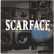 "Scarface The Fix Exclusive Album Sampler UK 12"" vinyl Promo"