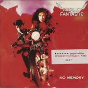 Click here for more info about 'Scarlet Fantastic - No Memory - Scarlet Vinyl'