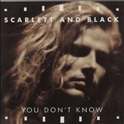 Click here for more info about 'Scarlett And Black - You Don't Know'