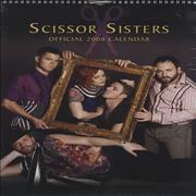 Click here for more info about 'Scissor Sisters - Official Calendar 2008'