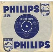 """Scott Walker Jackie - 4pr UK 7"""" vinyl"""