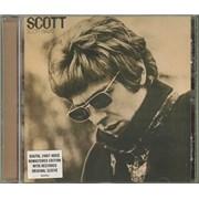 Scott Walker Quantity of 4 HDCDs UK 4-CD set
