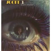 Scott Walker Scott 3 UK vinyl LP