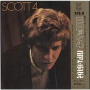 Scott Walker Scott 4 + obi Japan vinyl LP