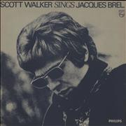 Click here for more info about 'Scott Walker - Scott Walker Sings Jacques Brel - gold stamp'