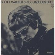 Scott Walker Scott Walker Sings Jacques Brel - gold stamp UK vinyl LP