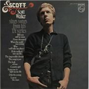 Scott Walker Scott Walker Sings Songs From His T.V. Series + Poster Japan vinyl LP