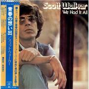 Scott Walker We Had It All Japan vinyl LP