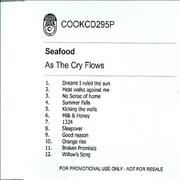 Click here for more info about 'Seafood - As The Cry Flows'
