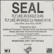 Click here for more info about 'Seal - Fly Like An Eagle'