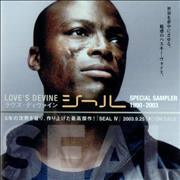 Click here for more info about 'Seal - Love's Devine - Special Sampler 1990-2003'