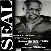 Click here for more info about 'Seal - The Human Being Tour'