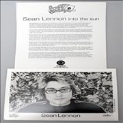 Sean Lennon Into The Sun USA press pack Promo