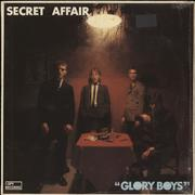 Click here for more info about 'Secret Affair - Glory Boys - EX + Shrink + Inserts'
