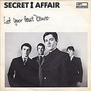 Click here for more info about 'Secret Affair - Let Your Heart Dance + Picture Sleeve'