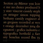 Click here for more info about 'Section 25 - Mirror - RSD15'