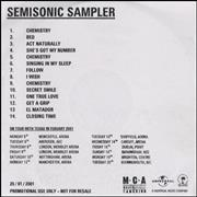 Click here for more info about 'Semisonic - Sampler'