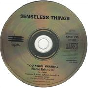 Click here for more info about 'Senseless Things - Too Much Kissing - Radio Edit'