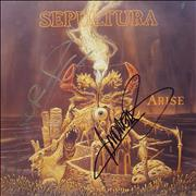 Click here for more info about 'Sepultura - Arise - Autographed'