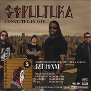 Click here for more info about 'Sepultura - Convicted In Life'