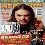 Click here for more info about 'Kerrang! Magazine - Kerrang! Magazine - May 94'