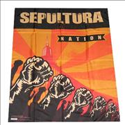 Click here for more info about 'Sepultura - Nation - Banner'