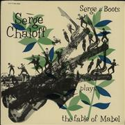 Serge Chaloff Serge & Boots Plays The Fable Of Mabel Japan vinyl LP