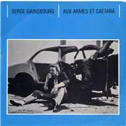"""Serge Gainsbourg Aux Armes et Caetera UK 7"""" vinyl"""