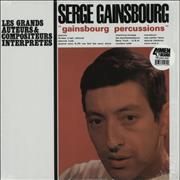 Serge Gainsbourg Gainsbourg Percussions USA vinyl LP