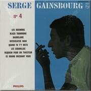"Serge Gainsbourg Serge Gainsbourg No. 4 France 10"" vinyl"