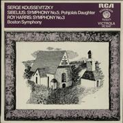 Click here for more info about 'Serge Koussevitzky - Sibelius: Symphony No. 5 & Pohola's Daughter / Harris: Symphony No. 3'