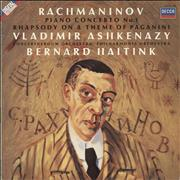 Click here for more info about 'Rachmaninov: Piano Concerto No. 1 / Rhapsody On A Theme Of Paganini'