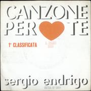 Click here for more info about 'Sergio Endrigo - Canzone Per Te'
