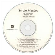 Click here for more info about 'Sergio Mendes - Emorio - Dance Remixes'