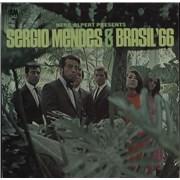 Sergio Mendes Herb Alpert Presents Sergio Mendes & Brasil '66 UK vinyl LP