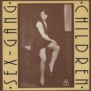 "Sex Gang Children Mauritia Mayer UK 7"" vinyl"