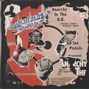 Click here for more info about ' - Anarchy In The UK - Punk Art sleeve'