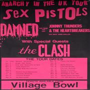 Click here for more info about 'Sex Pistols - Anarchy In The UK Tour - Bournemouth Village Bowl'