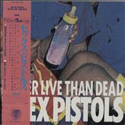 Click here for more info about 'Sex Pistols - Better Live Than Dead - EX'